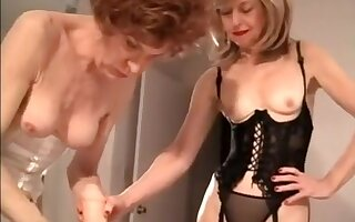 Amazing amateur shemale scene with Stockings, Dildos/Toys scenes