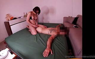 Exciting hung brazilian babe tortuosities man purchase fuckdoll