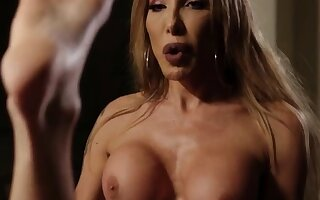 Dominate TS stepmom fucks her stepsons ass increased by gives emphatic